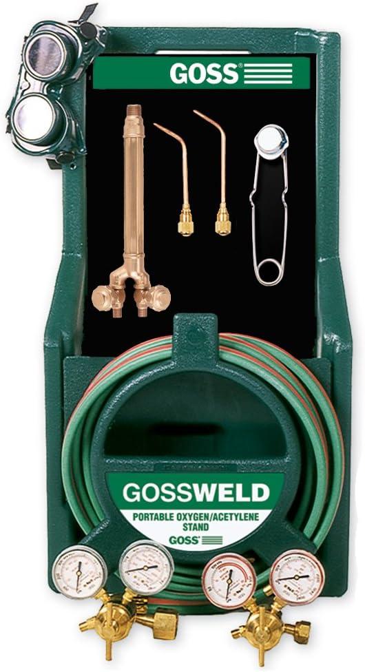 Goss KA-125-M12P Welding and Brazing Max 42% OFF HVAC Torch Kit Tool