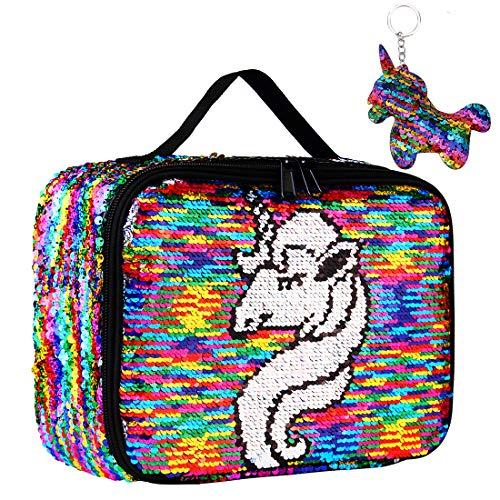 Sequin Lunch Box, Reversible Sequin Flip Color Change,...
