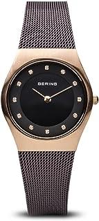 Bering Classic - Reloj analógico de mujer de cuarzo con cor