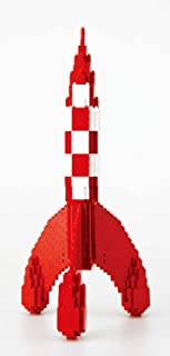 Nanoblock - Tintin - Tintin Rocket - 1100pcs Set by Kawada
