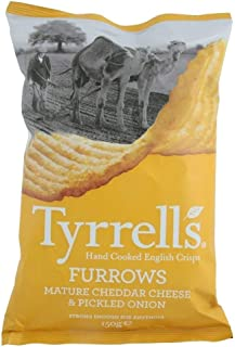 Tyrell's Hand Cooked English Chips - Mature Cheddar & Chives, 5.3 oz