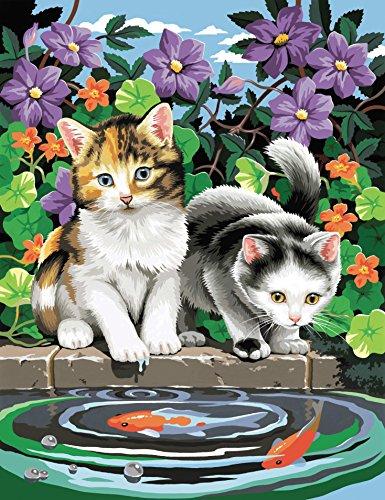 Oz International - PPNJ401 - Loisir Créatif - Peinture N° Enfant Chats
