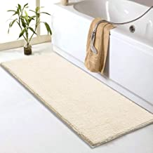 """Sheepping Chenille Bathroom Rugs Runner (59"""" x 20"""") - Anti-Slip Long Bath Mat, Extra Soft,Absorbent and Machine Washable,S..."""
