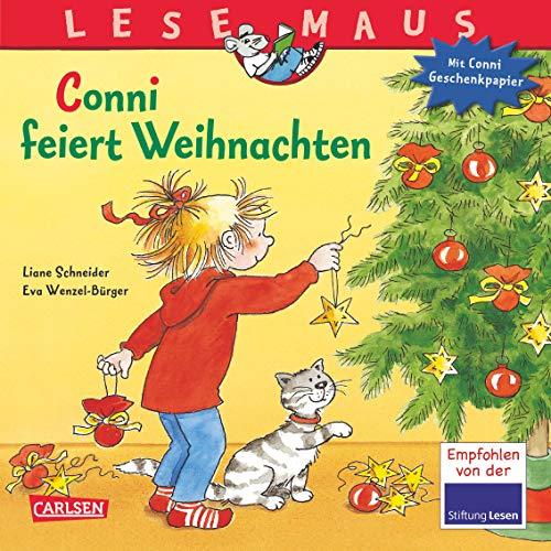 LESEMAUS 58: Conni feiert Weihnachten: Mit weihnachtlichem Conni-Geschenkpapier! (58)