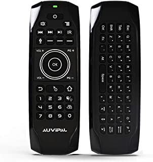 AuviPal G9 Pro+ Backlit 2.4GHz Wireless Air Mouse Remote with Google Voice Assistant, QWERTY Keyboard, 4 Programmable Keys...