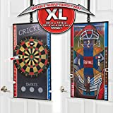Oversized 2 in 1 Dartboard and Baseball Darts XL Double sided target Mat Gift Set Gift Toy for Boys and Girls