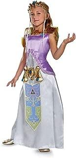 Zelda Deluxe Legend of Zelda Nintendo Costume, Medium/7-8