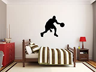 large basketball wall decals
