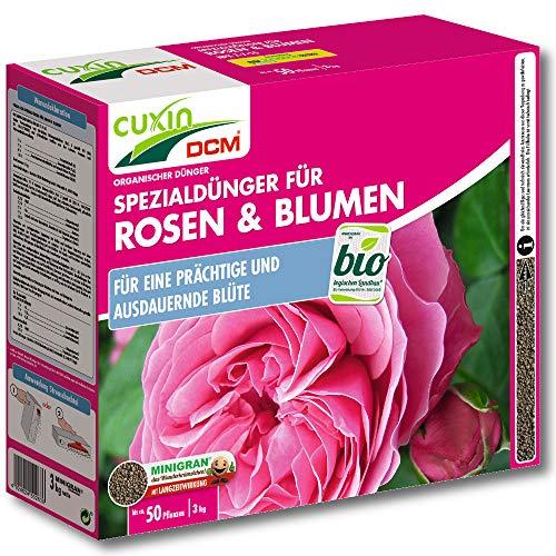 Cuxin Spezialdünger für Rosen und Blumen, 3,5 kg