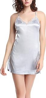 Liqqy シンプル ベーシック 選べる キャミソール レディース Vネック 寝間着 を飾る優雅な刺繍レース ミニ ベビードール
