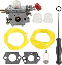 Butom C1U-P27 753-06288 Carburetor with Fuel Filter Line for MTD Troybilt MS2550 MS2560 MS9900 RM430 TB2040XP TB2044XP TB2MB TB430 Craftsman 316791020 316795860 Trimmer