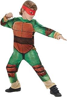 Disfraz de Tortuga Ninja para niños, talla infantil 7-8 añ