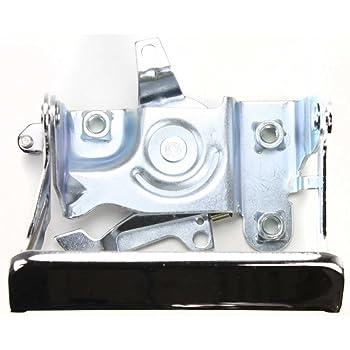 APDTY 02292 Rear Tailgate Handle Bezel Trim Chrome