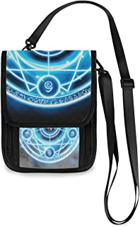 MOASTORY Phone Purse Magnetar Neutron Star Deep Space Use Travel Passport Bag