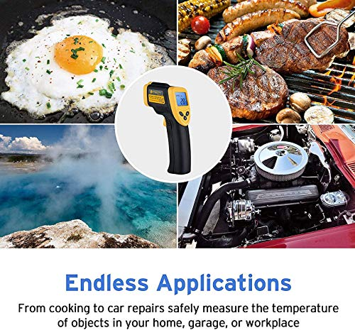 Etekcity Lasergrip 1080 Non-contact Digital Laser IR Infrared Thermometer