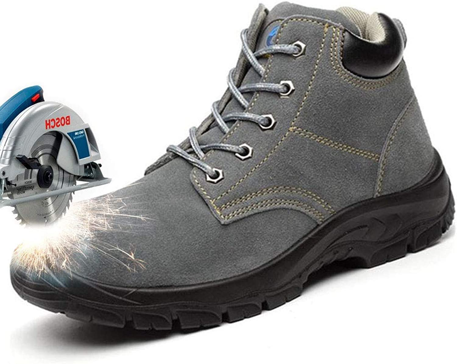 Women's Safety Work shoes Steel-Toe Athletic shoes