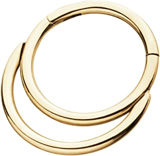 Best double nose ring Reviews