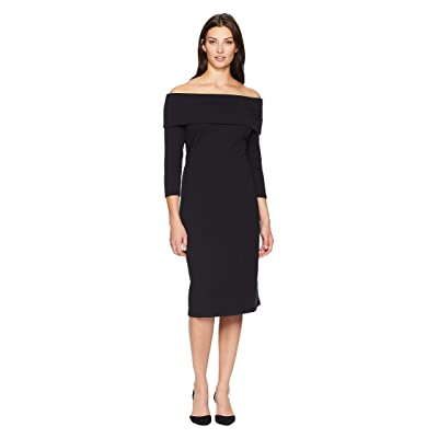 Tommy Bahama Island Zone Midi Dress (Black) Women