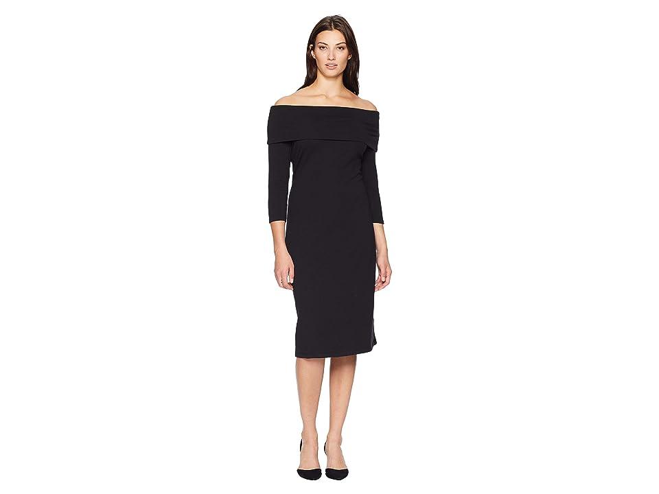 Tommy Bahama Island Zone Midi Dress (Black) Women