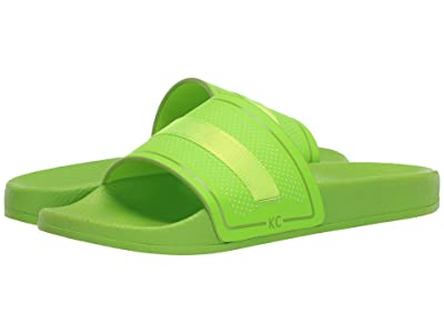 Kenneth Cole Reaction Screen Mixed Slide (Chartreuse) Men