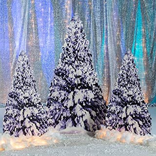 Shindigz Winter Tree Standee Party Prop Standup Photo Booth Prop Background Backdrop Party Decoration Decor Scene Setter Cardboard Cutout