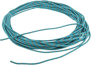 SM SunniMix 6mm Static Outdoor Rock Climbing Rope Fire Escape Safety Auxiliary Rappelling Cord 6.5KN