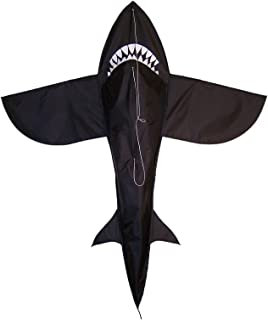 In the Breeze 6 Foot 3D Shark Kite - Single Line - RipStop Fabric - Includes Kite Line and Bag