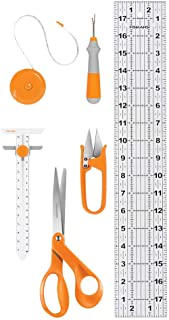 Fiskars Sewing Essentials Set (6pc), Orange 6 Count
