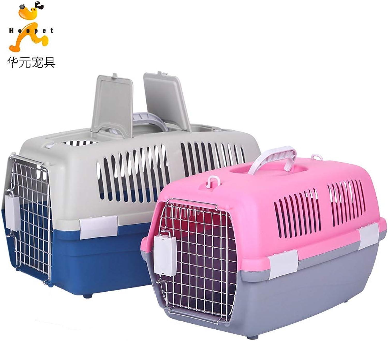 Dofohy198xxy Pet air box air box pet dog cage cat cage aircraft aviation air Teddy golden Retriever