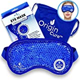 Origin Cure Gel Beads Eye Mask Hot/Cold Reusable Cooling Eye Mask Cold...
