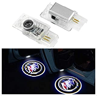 Crystal for Buick LaCrosse Envision Allure Enclave Encore Car LED Projector Door Ghost Shadow Welcome Logo Light