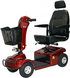 Shoprider Sunrunner 4 Wheel Scooter Color: Burgundy