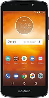"Boost Mobile Moto E5 Prepaid Phone, Play 5.2"" HD Display 16GB ROM/2GB RAM 1.4 GHz Quad-Core, Carrier Locked to Boost Mobile"