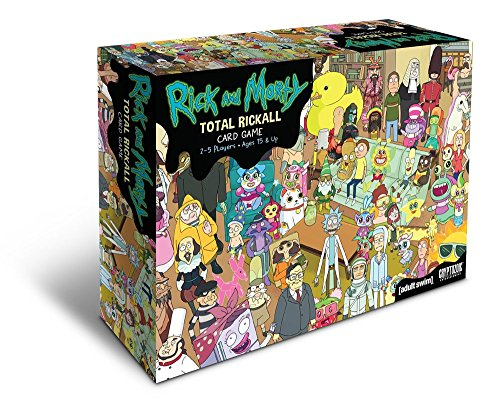 This fun Rick & Morty game is perfect for stocking stuffers for teenage boys.