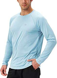 Naviskin Men's Quick Dry UPF 50+ Sun Protection Long Sleeve Shirt SPF Lightweight Hiking Fishing Shirt