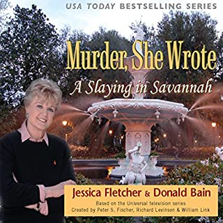 Murder, She Wrote: A Slaying in Savannah audiobook cover art