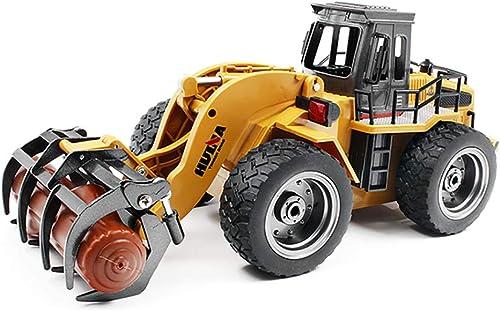 Auto Fahrzeug 1 18 6CH Legierung RC Bulldozer Truck mit Frontlader Truck Engineering BAU Auto Fahrzeug Spielzeug RTR Legierung RC Truck mit Frontlader Truck Engineering BAU Spielzeug
