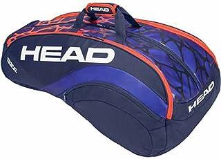 HEAD(ヘッド) RADICAL 12R MONSTERCOMBI ラケットバッグ 12本収納可 ブルー×オレンジ 283308-BLOR