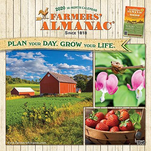 Farmers' Almanac 2020 Square Wall Calendar