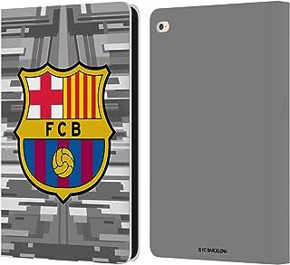 Head Case Designs Oficial FC Barcelona Portero Segunda equipación 2019/20 Crest Kit Carcasa de Cuero Tipo Libro Compatible con iPad Air 2 (2014)