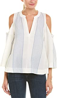 Women's Elin Sleeveless Flowy Top with Cut Out Shoulders
