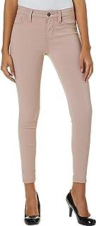 a64b4b034f YMI Juniors Solid Hyperstretch Skinny Pants Medium Banana Cream Yellow