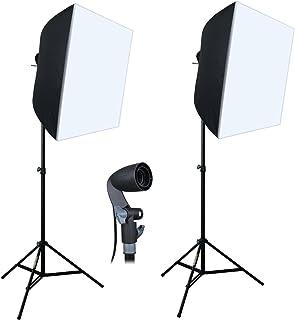 "Linco Lincostore Photography Equipment Photo Studio Lighting 24""x24"" Softbox Light Kit AM141M"