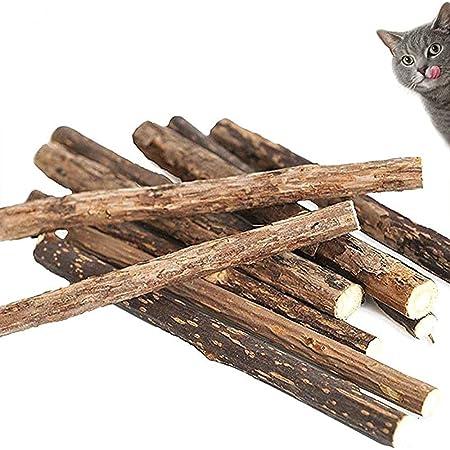 VMIZIV Cat Catnip Sticks 10//20//50 Pcs Natural Matatabi Silvervine Sticks Chew Toys Cat Treats Sticks Natural Cat Dental Chews for Teeth Cleaning