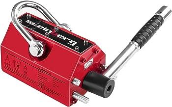 10 unidades first4magnets f0804 N35-10 8 mm di/ámetro x 4 mm de grosor N35 im/án de neodimio con 1,47 kg tirador