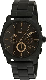 Fossil Machine Chronograph Black Dial Men's Watch - FS4682