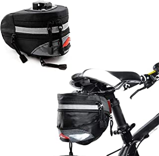 MTB Bolsa De Sill/ín Prueba De Lluvia Pannier 3D Shell Reflectante Tija De Sill/ín Trasero Bolso Cesta Accesorios De Ciclismo MTB