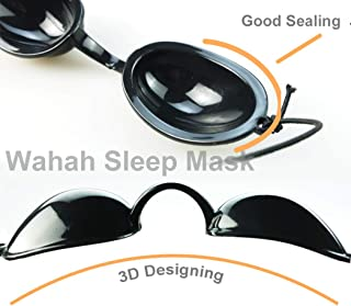 Wahah Dry Eyes Relief Eyeshade Goggles for Sleeping Well, Block Air Leak into Eyes, Relief Dry Eyes, Eyeshade for Men and Women