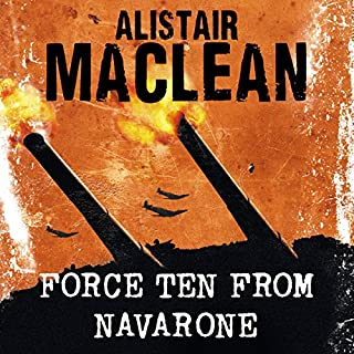 Force Ten from Navarone audiobook cover art