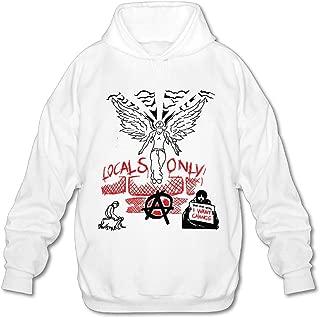 Rendechang Machine Hiphop Ke-lly Tatto Adult Sweatshirt Pullover Hoodies for Men